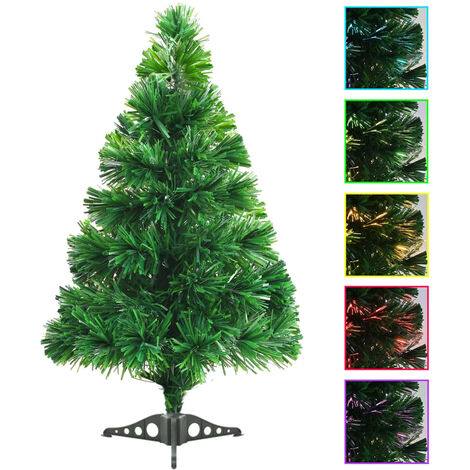 Arbre de Noël artificiel Fibre optique 64 cm Vert