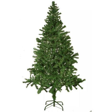 Arbre de Noël Sapin de Noël Artificiel 180 cm XL Vert Décoration Chambre Maison Exterieur