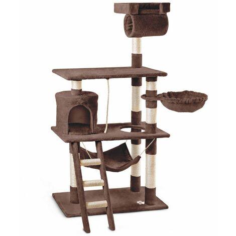 Arbre-grattoir, centre de jeu et de repos pour chats, hauteur 140 cm - Mchaus
