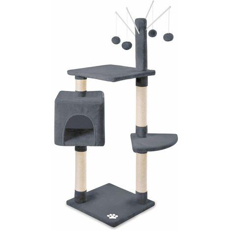 Arbre-Grattoir centre de jeu et repos pour chats de 118cm de hauteur