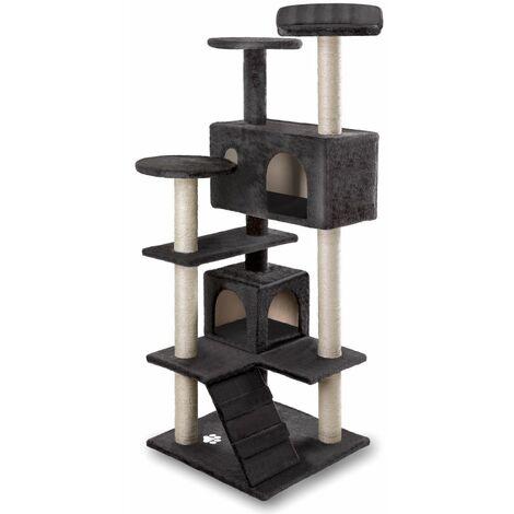 Arbre-Grattoir centre de jeux et repos pour chats de 130 cm de hauteur - Mchaus