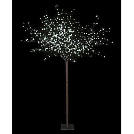 Arbre lumineux 600 LEDs - Blanc - 250 cm - Décoration de Noël - Livraison gratuite