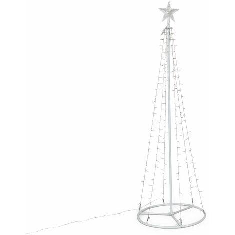 Arbre lumineux conique, 180cm, 200 leds - décoration de Noël