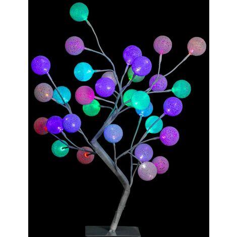 Arbre lumineux Coton - Fééric Christmas - Multicolore