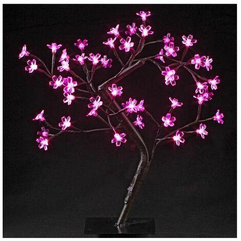 Arbre lumineux Led à poser Prunus 48 Led