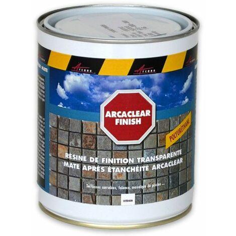 ARCACLEAR FINISH - Rend la résine arcaclear mate - ARCANE INDUSTRIES - Transparent - 1 Kg - Transparent