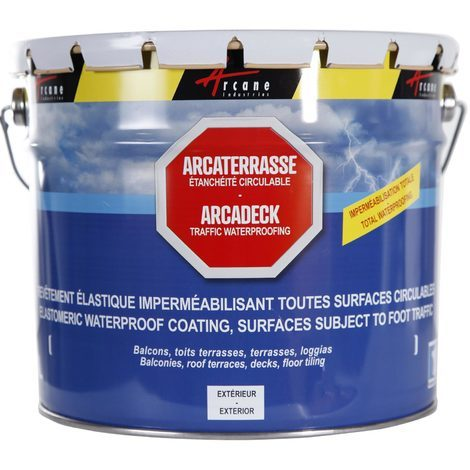 ARCADECK - Waterproof decks, terraces, balconies Decorative and protective paint for surfaces subject to foot traffic