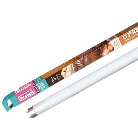 Arcadia Neon T8 - D3+ - Reptile Lamp 12% UVB - 25W - Lampada Specifica per Rettili