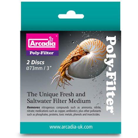 Arcadia - Polyfilter für Aquarien