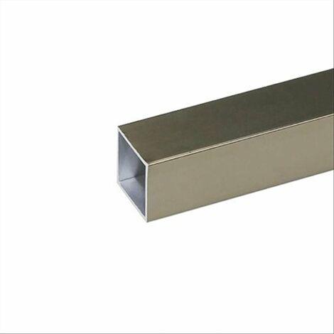 Arcansas profilo alluminio 10x10x1 argento