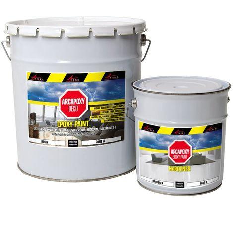 ARCAPOXY DECO - Epoxy Paint, Floor and wall coating in living room, basement, loft no solvants, non toxic