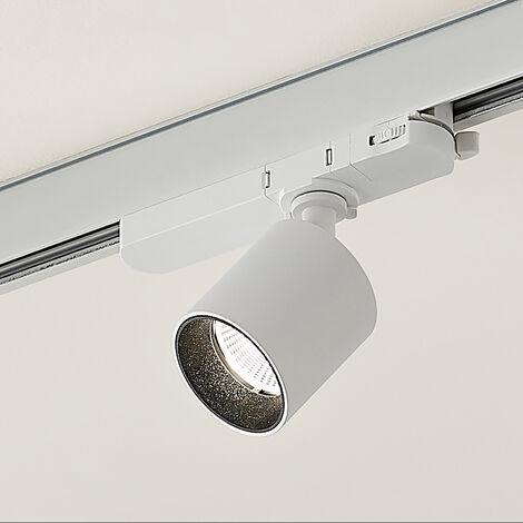 Arcchio Candra foco de riel LED, blanco 9W 4.000 K