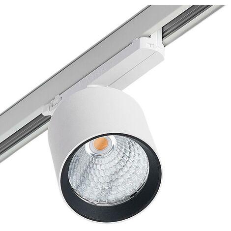 Arcchio Candra foco riel LED, blanco 26,5W 3.000 K