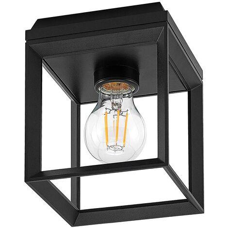 Arcchio Cayla, lámpara de techo, jaula, negro