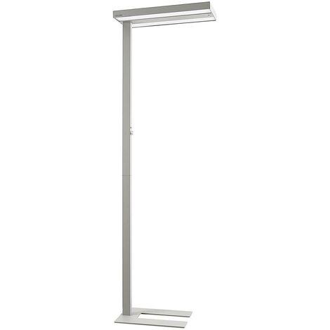 Arcchio Nelvana lámpara de pie sensor LED, plata