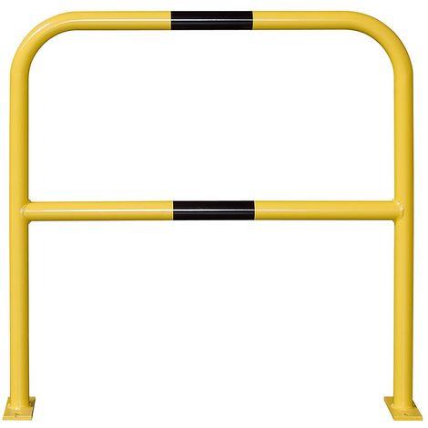Arceau de protection - à cheviller - largeur 1000 mm, galvanisé/peint - Coloris: Jaune