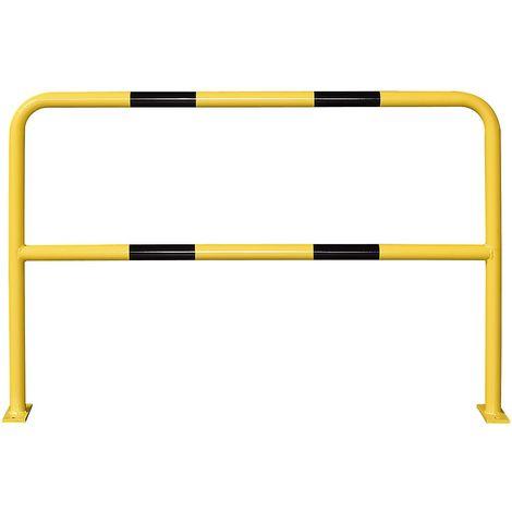 Arceau de protection - à cheviller - largeur 1500 mm, galvanisé/peint - Coloris: Jaune