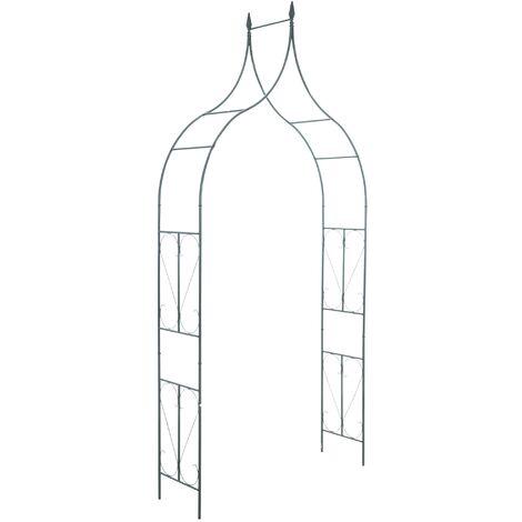 """Arche à rosiers """"40 cm"""" vert"""