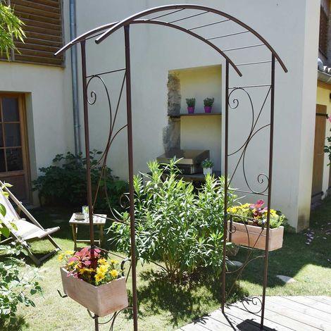 Arche de jardin pont en fer - Louis Moulin