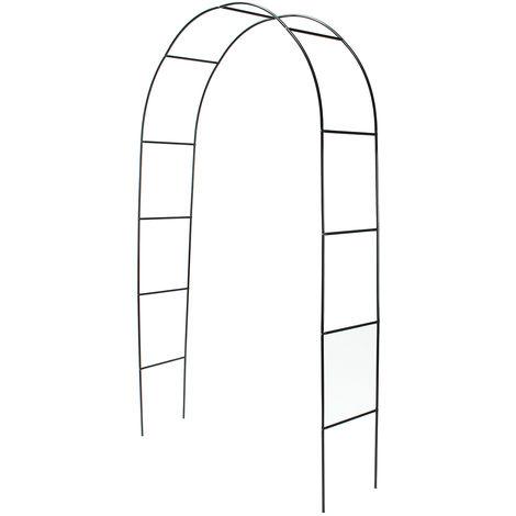 Arche de jardin résistant 240*140*38cm pour plantes grimpantes Mariage