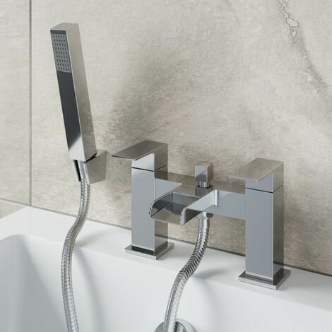 "main image of ""Architeckt Dakota Bath Shower Mixer Waterfall Tap"""