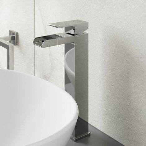 Architeckt Dakota High Rise Basin Mixer Waterfall Tap