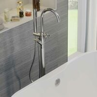Architeckt Lattra Freestanding Bath Shower Mixer Tap