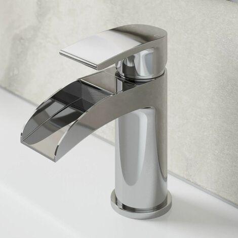 Architeckt Motala Basin Mixer Waterfall Tap