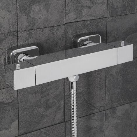 Architeckt Square Bar Shower Valve Bottom Outlet
