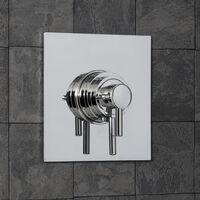 Architeckt Square Concentric Concealed Shower Valve