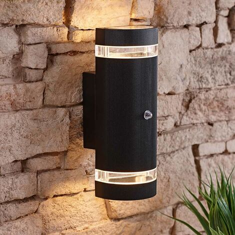 Architect Aplique Exteriores de 35W, Redondo, Moderno, Sensor PIR Incorporado