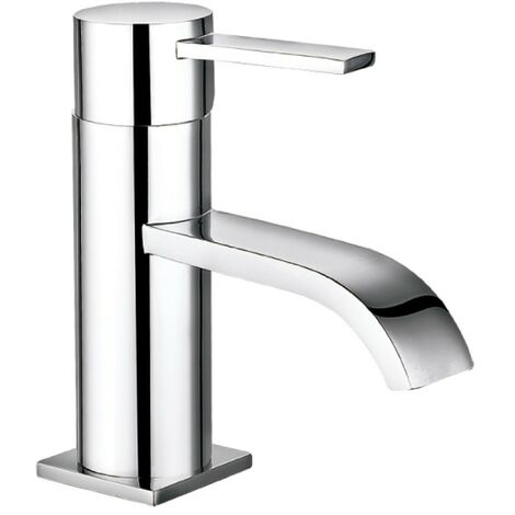 Arco Chrome Basin Mono Mixer & Slotted Sprung Basin Waste