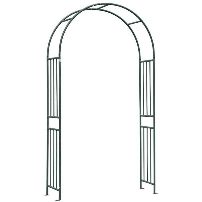 Arco decorativo da giardino struttura in metallo h 240 cm codice 915//1 verdelook