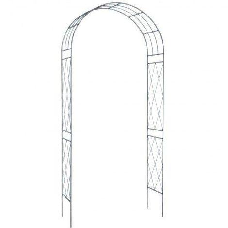Arco Decorativo De Acero Para Jardín
