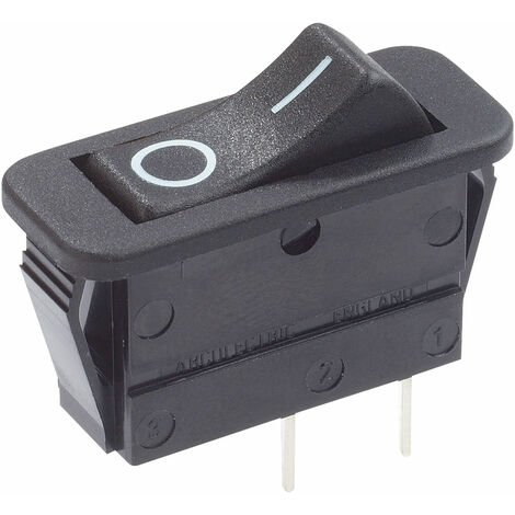 Arcolectric C1300VBAAF Rocker Switch High Inrush SPST On-Off 250V AC 16A