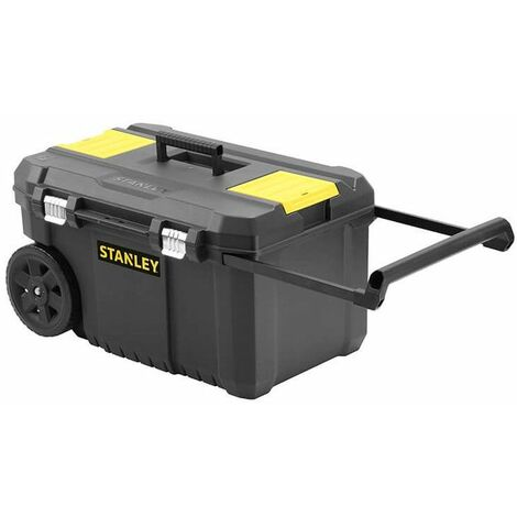 Arcón de transporte Stanley 50L Essential con cierres metálicos STST1-80150