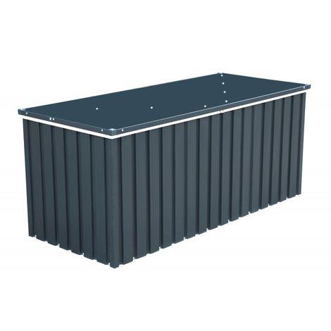 Arcón Hermes metálico: 73x173x72 cm. Gan capacidad de almacenaje. Duramax