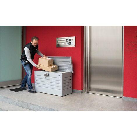 Arcon Metalico Biohort Paket-Box Cofre- Baul De Jardin