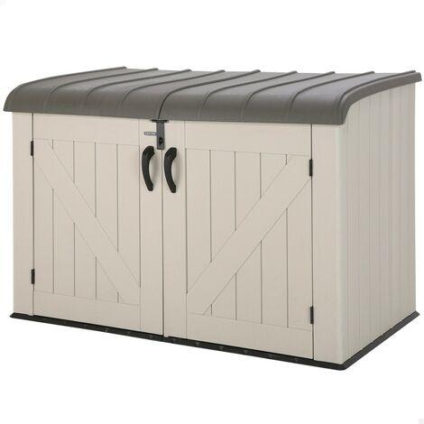 Arcón para exterior ultrarresistente 191x108x132 cm UV100 (Lifetime 60170)