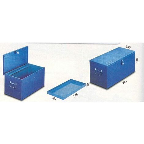Arcon Taller 685x330x330mm Con Bandeja 28,5 Kg Met Heco