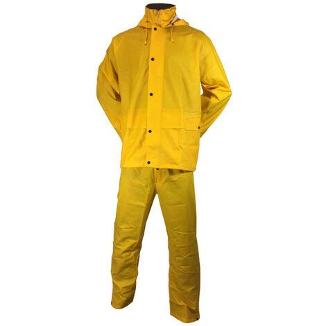 ARCOTEK diflex rain set - yellow - Size L