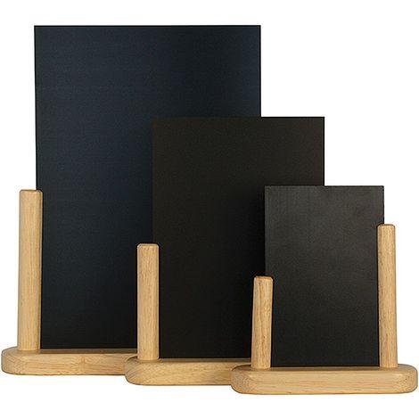 Ardoise de table Elegant - PVC et bois - 6.5