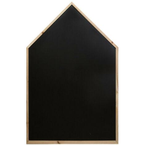 Ardoise maison H116cm Atmosphera - Noir