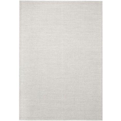 Area Rug Sisal Look Indoor/Outdoor 160x230 cm Grey