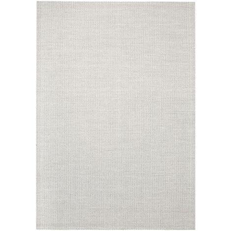 Area Rug Sisal Look Indoor/Outdoor 80x150 cm Grey