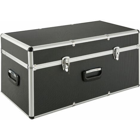 Arebos Aluminium Box Storage Box Trunk Box Chase Box Lockable 100L