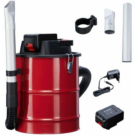 Arebos aspirador con batería 12l 140 W aspiradora aspirador incl. filtro HEPA - rojo negro