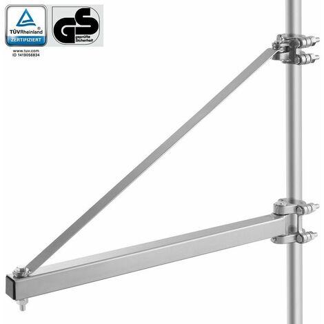 Arebos Brazo giratorio para cabrestante de cable 1000 kg