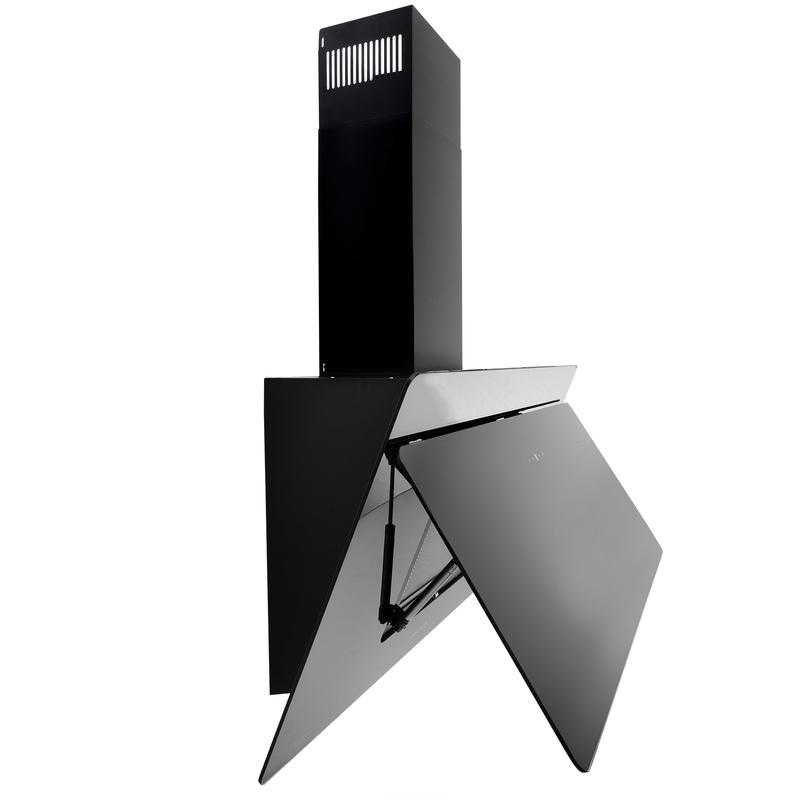 Arebos Cappa Aspirante da Cucina Acciaio Inox Montaggio Parete 90cm ...