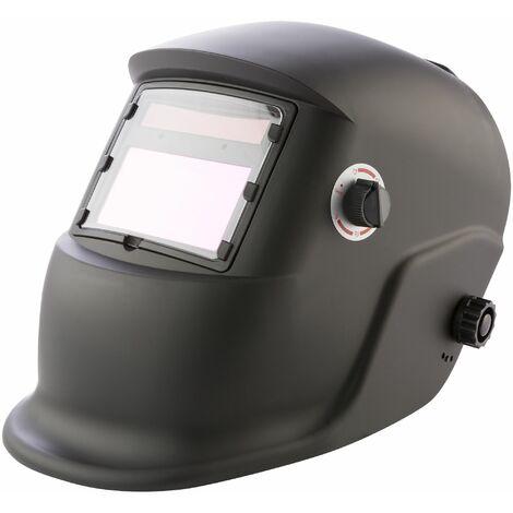 Arebos Casco de soldadura Protector automático de soldadura soldar Solar Negro
